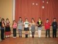 Labinieku sveikšana Priekules vidusskolā. 15.01.2010.