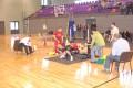 Priekules novada atklātais čempionāts 2010 spiešanā guļus bez ekipējuma.