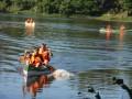 Jaunsargu vasaras pārgājiens Kazdangas apkārtnē.