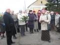 Komunistiskā genocīda upuru piemiņas diena Priekulē.