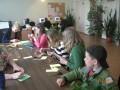 Radošā pēcpusdiena Priekules bibliotēkā.11.05.12.