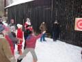 """""""Sniega barikāžu cīņas"""", Purmsātu internātskolā. 24.01.2013."""