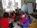 Valodu un mākslas projekta diena Kalētu pamatskolā.
