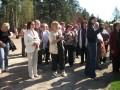 Priekules novada sakoptāko sētu saimnieku ekskursija uz Baltezera stādu audzētavu.08.05.13.