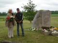 1941.gada masu deportāciju piemiņas brīži Priekulē, Bunkā, Virgā.14.06.13.