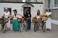 Ikara svētku velovēstneses pilsētas ielās. 09.08.2013.