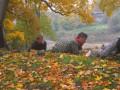 """Kalētu jaunieši spēlē """" Jaunie Rīgas sargi"""" 11.10.2013."""