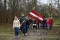 Komunistiskā genocīda upuru piemiņas dienai veltītie pasākumi Priekules novadā 25.03.2014.