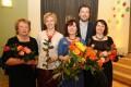 Diriģentes Guntas Vites 25 gadu darba jubileja Priekulē 01.05.2015.