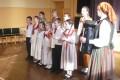 Novada folkloristi Lejaskurzemes bērnu un jauniešu folkloras kopu sarīkojumā Rucavā 12.02.2016.