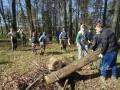 Gramzdas pamatskolēnu talka Aizvīķu un Dāmas pilskalnos 03.05.2016