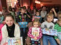 """Ziemassvētku pasākums """"Vislielākā dāvana"""" Bunkas pagasta bērniem 17.12.2016."""