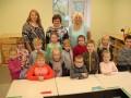 Jaunās pirmsskolas grupu telpas Krotē