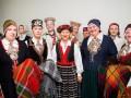 Priekules novada tautastērpi fināla skatē Dziesmu svētkos