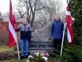 25. marts - komunistiskā genocīda upuru piemiņas diena Priekules novadā