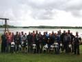Amatieru līgas 2019. gada Latvijas čempionāts pludiņmakšķerēšanā Prūšu ūdenskrātuvē. Foto - Līga Svara